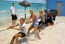 Kennenlerntag Beach-Olympiade