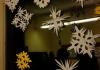 ...Schneesterne am Fenster