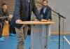 Herr Mathe ist der zweite Redner des Tages, ...
