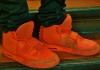 ... modische Schuhe für den Weihnachtsmann
