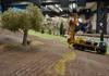 Arbeiten im OlivenhainKurze Pause in rom