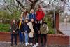 Trotz Regen ein schnelles Gruppenfoto...